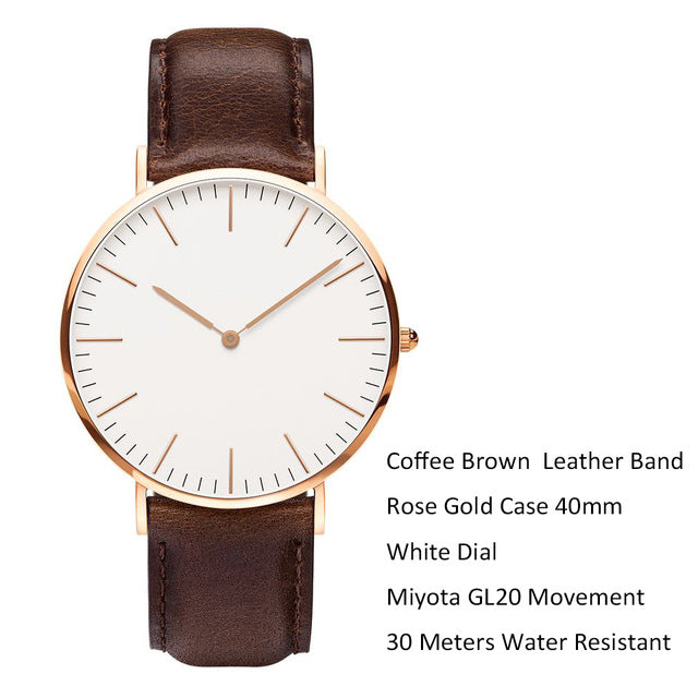Fashion Quartz Man Watch - Jeybeauty