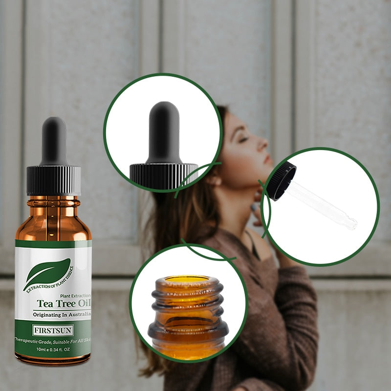 100% Natural Tea Tree Essential Oil - Jeybeauty