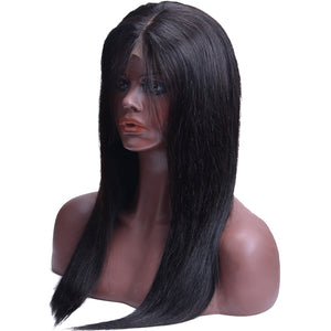 Mink Virgin Straight Lace Front Human Hair Wigs - Jeybeauty