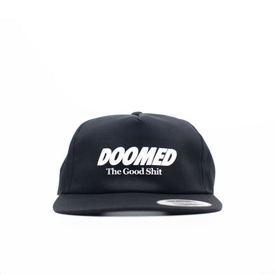 The Good Shit Snapback Black