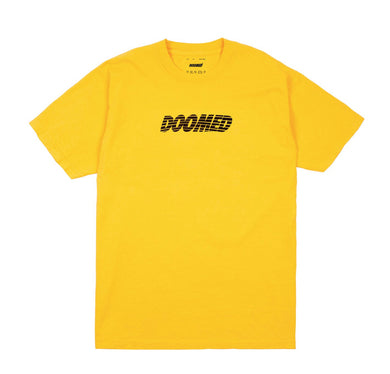 Cracked Tee Yellow