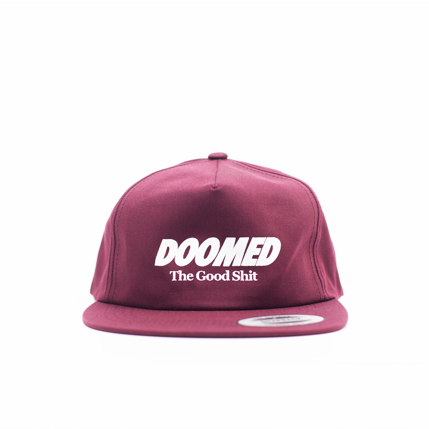 The Good Shit Snapback Maroon