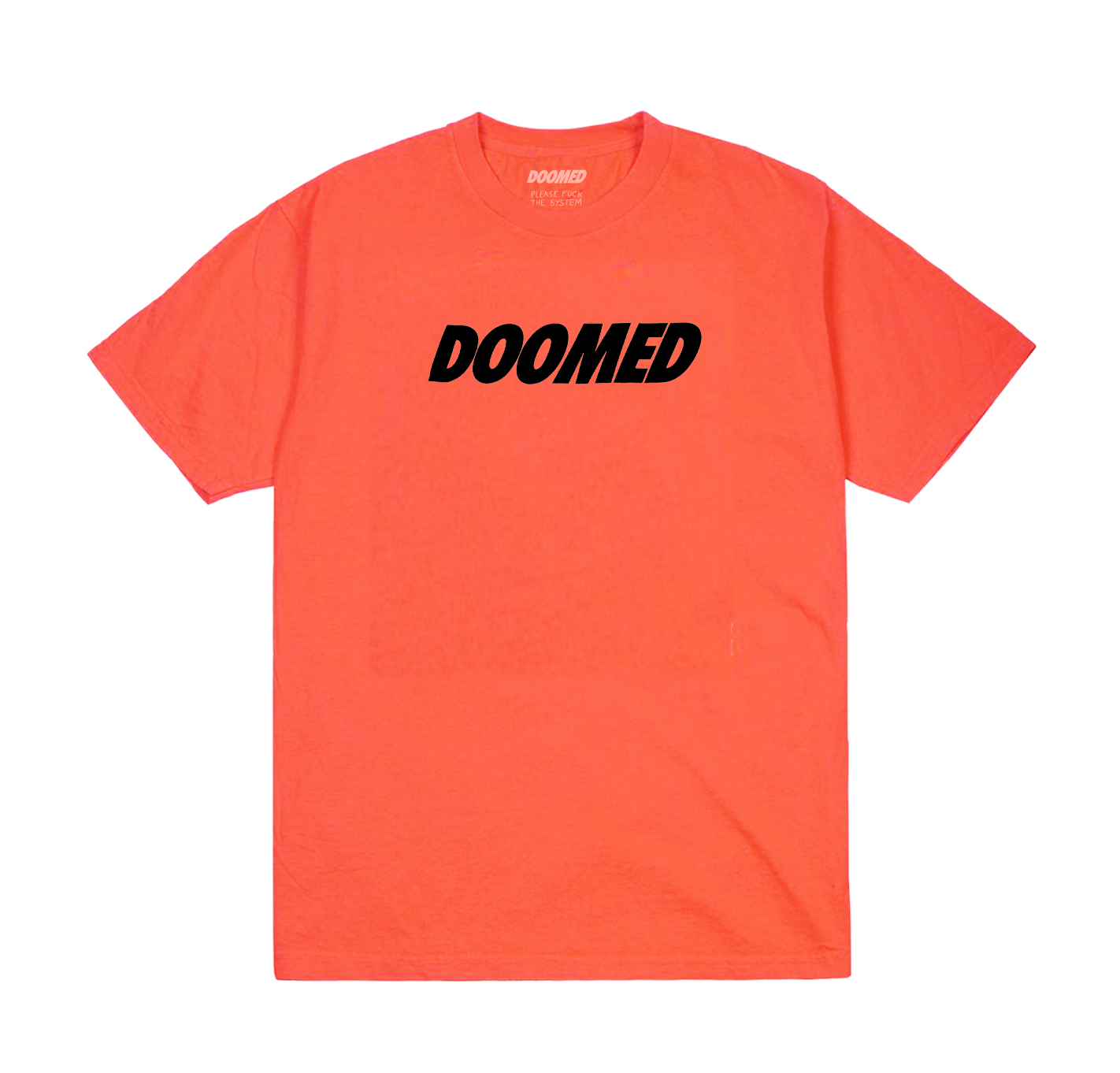 BASIC LOGO TEE ORANGE
