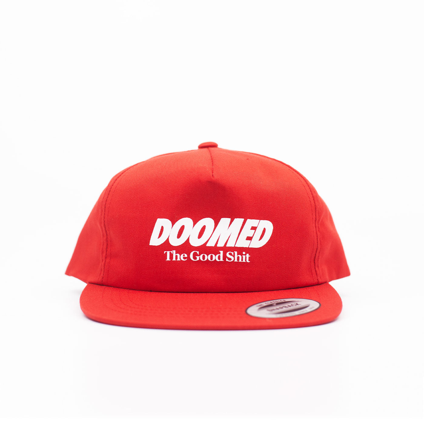The Good Shit Snapback Red