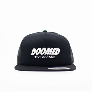 The Good Shit Trucker Cap Black