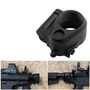 AR Folding Stock Adapter For M16/M4 SR25 Series GBB(AEG) For Airsoft HT2-0042