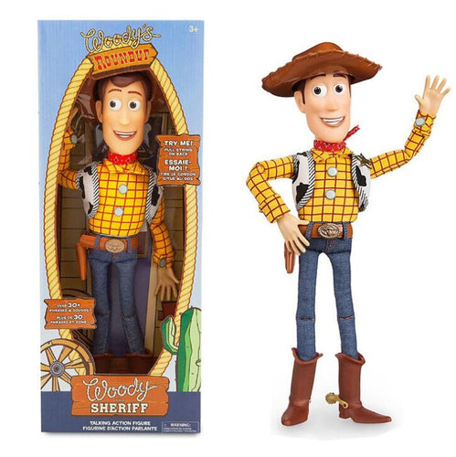 17'' Toy Story Talking Sheriff Woody Action Toy Figures