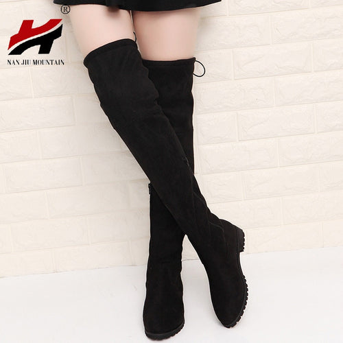 Slim Boots Sexy Over The Knee High