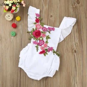 Baby Girl Bodysuits Flower