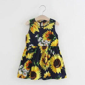 Baby Girl Princess Sun Flower Dress