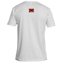 Load image into Gallery viewer, NuSouth White Next Level T-Shirt Large Flag