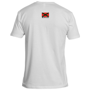NuSouth White Next Level T-Shirt Large Flag