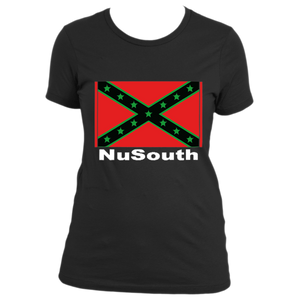NuSouth For the Sons and Daughters Black Women's Next Level T-Shirt