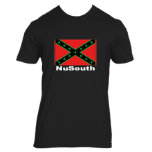 Load image into Gallery viewer, NuSouth Black Next Level T-Shirt Large Flag