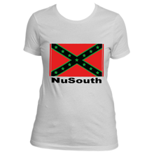 Load image into Gallery viewer, NuSouth For the Sons and Daughters White Women's Next Level T-Shirt