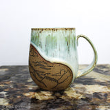 Mountain Escape Strata Mug