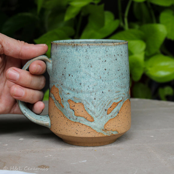 Barrier Island Shoreline Mug - C