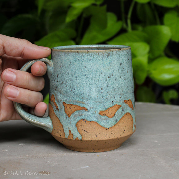 Barrier Island Shoreline Mug - B