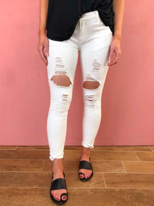 Just Beachy Distressed Jean