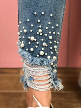 Load image into Gallery viewer, Pearls Go With Everything Jean