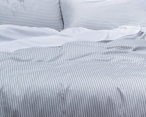100% Organic Bamboo Quilt Cover - STRIPES