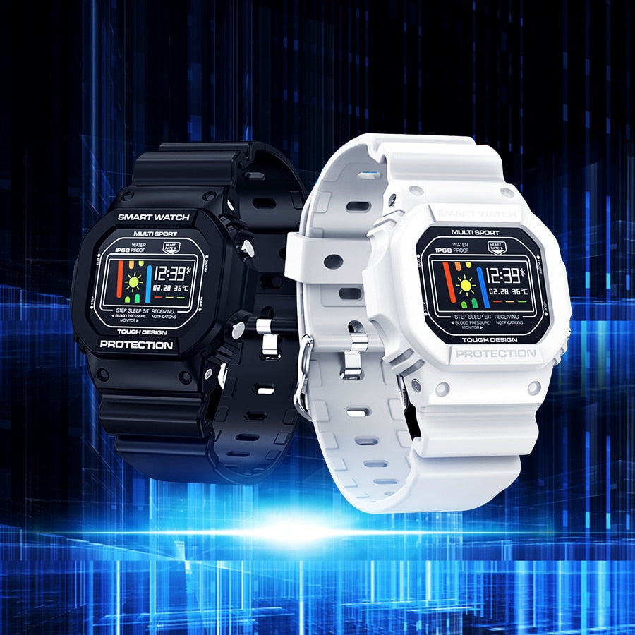 Tactical Smart Watch V-Shock White