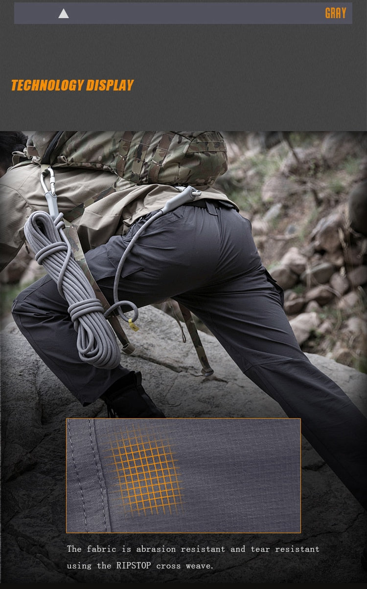 Pantalone Tattico IX9 Tactical Gray
