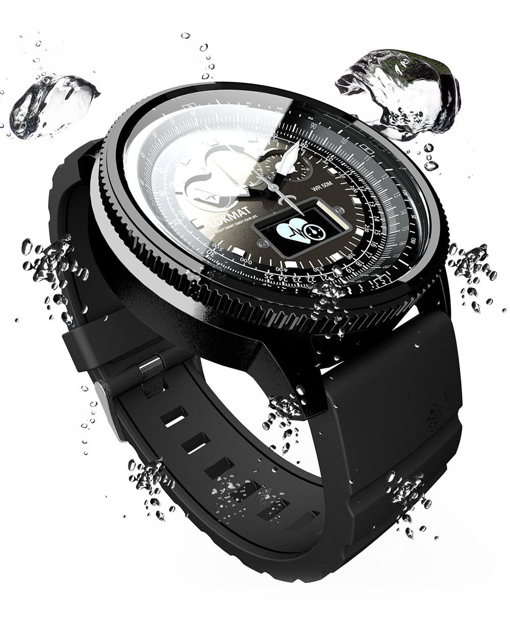 Tactical Smart Watch V11 Metal Black