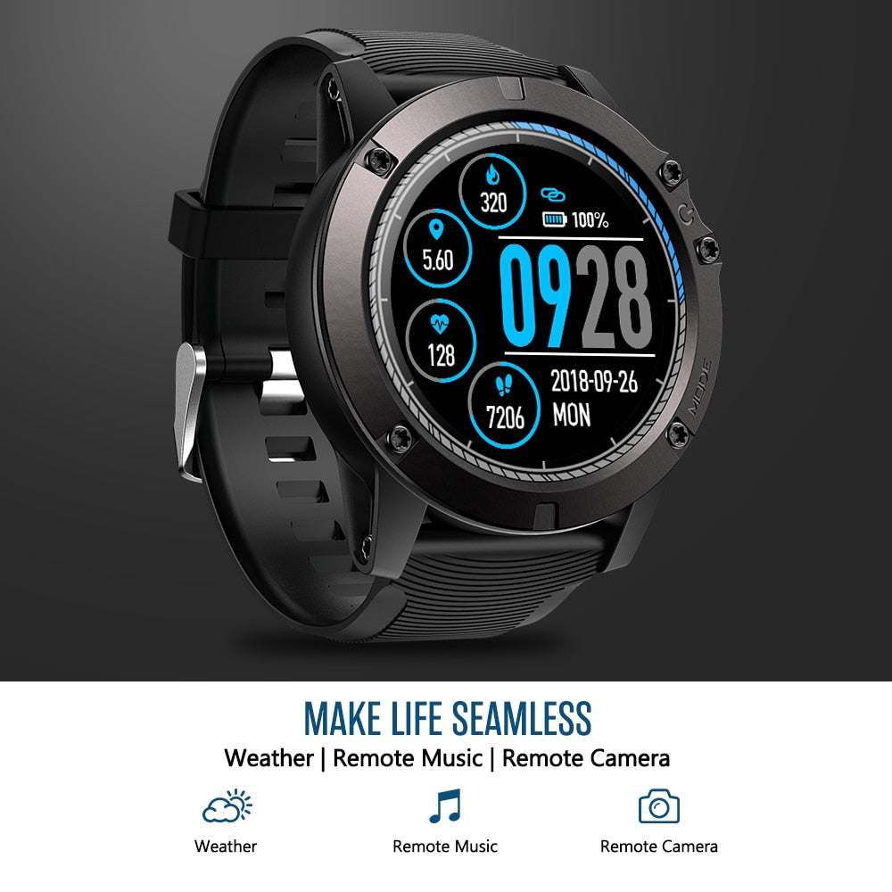 Tactical V3 PRO Smart Watch USB Blue
