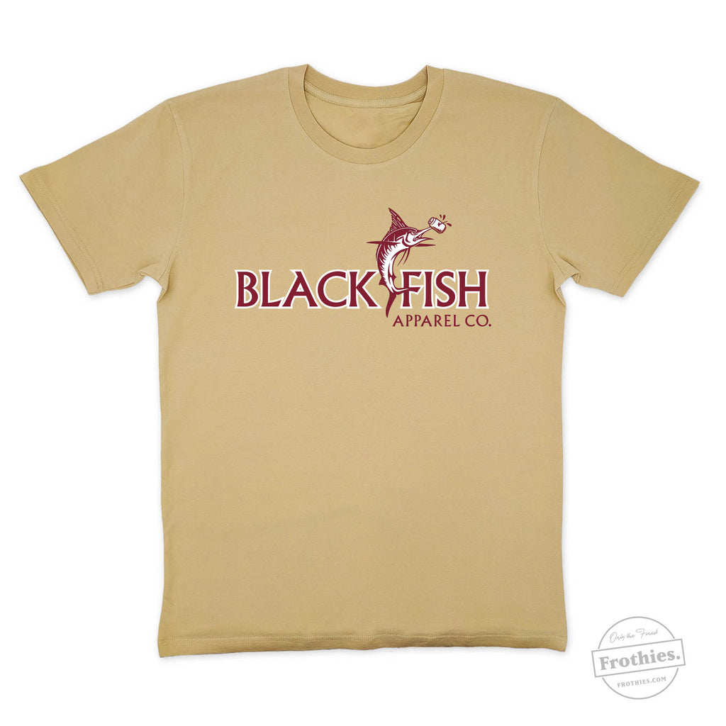 Black Fish Logo Tee