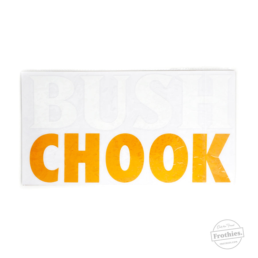 Bush Chook Car Decal
