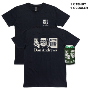 Dan Andrews' Tee & Cooler Bundle Black