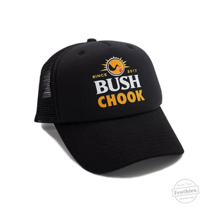 Bush Chook Trucker - Black