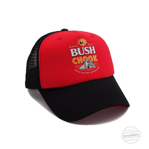 Bush Chook Trucker - Red