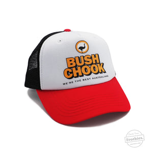 Bush Chook Trucker - White