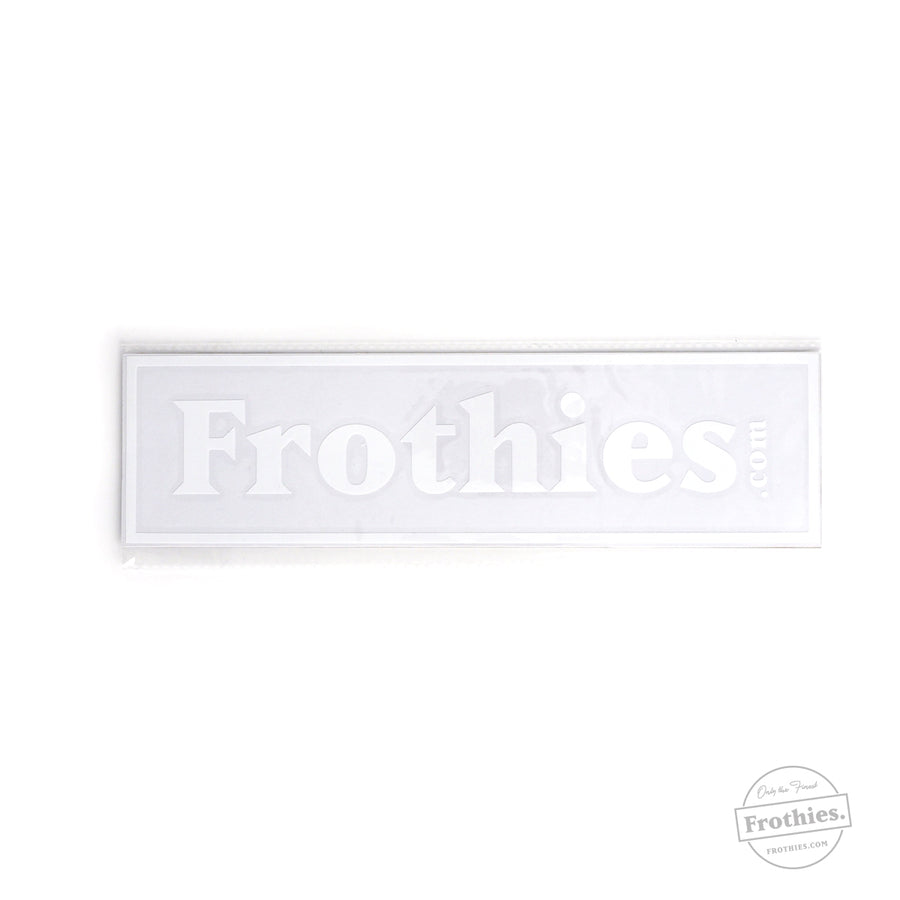 Frothies Car Decal