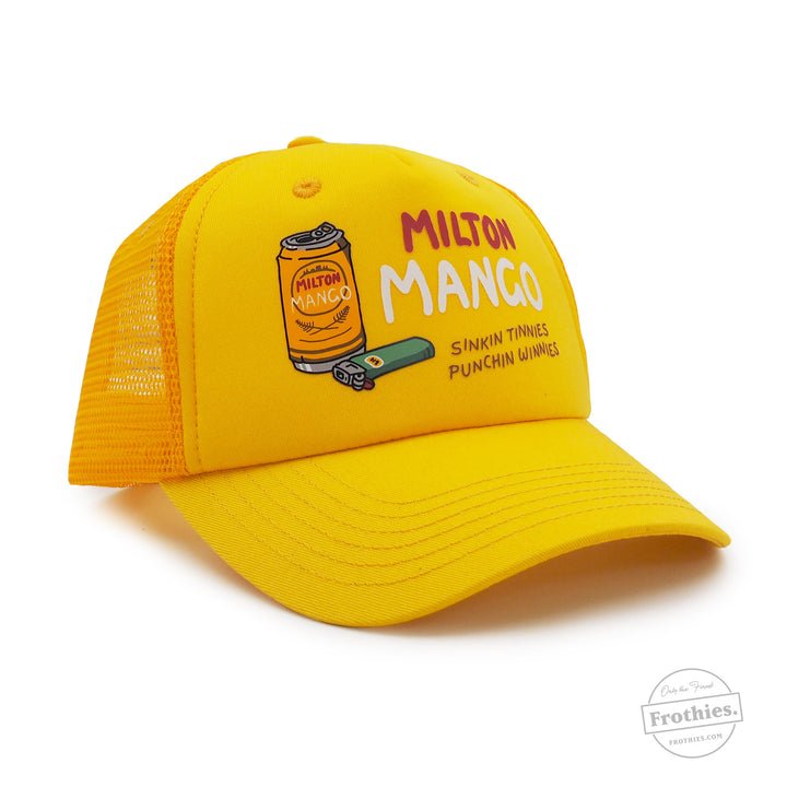 Sinkin Tinnies Trucker - Yellow