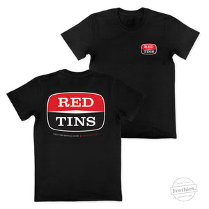 The Red Tins Badge Tee