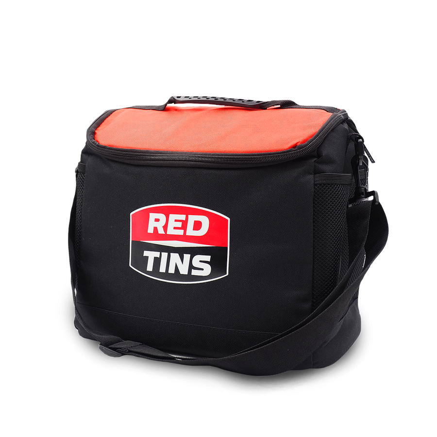 Red Tins Cooler Bag