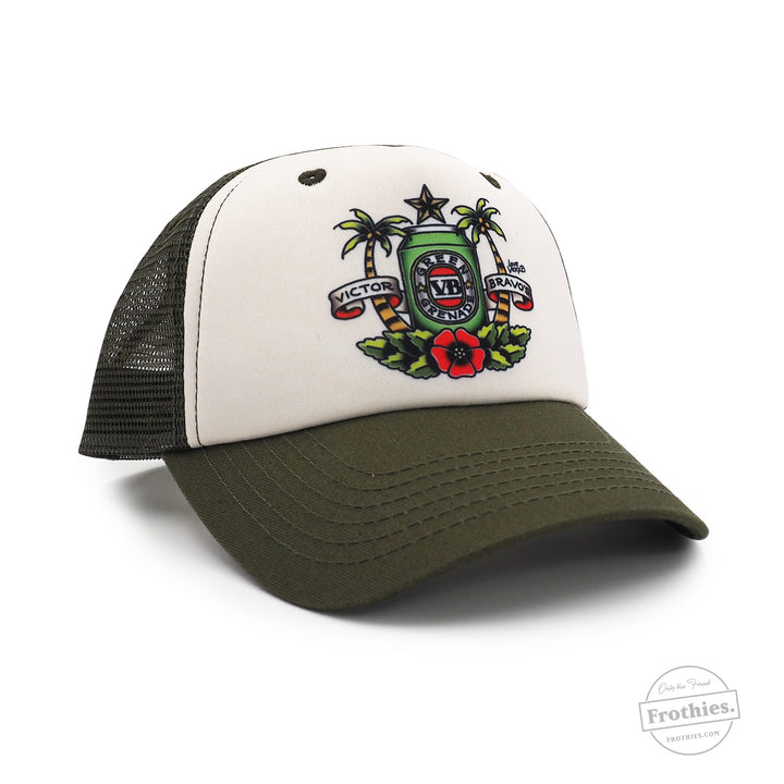 Vicky's Love Trucker - Green