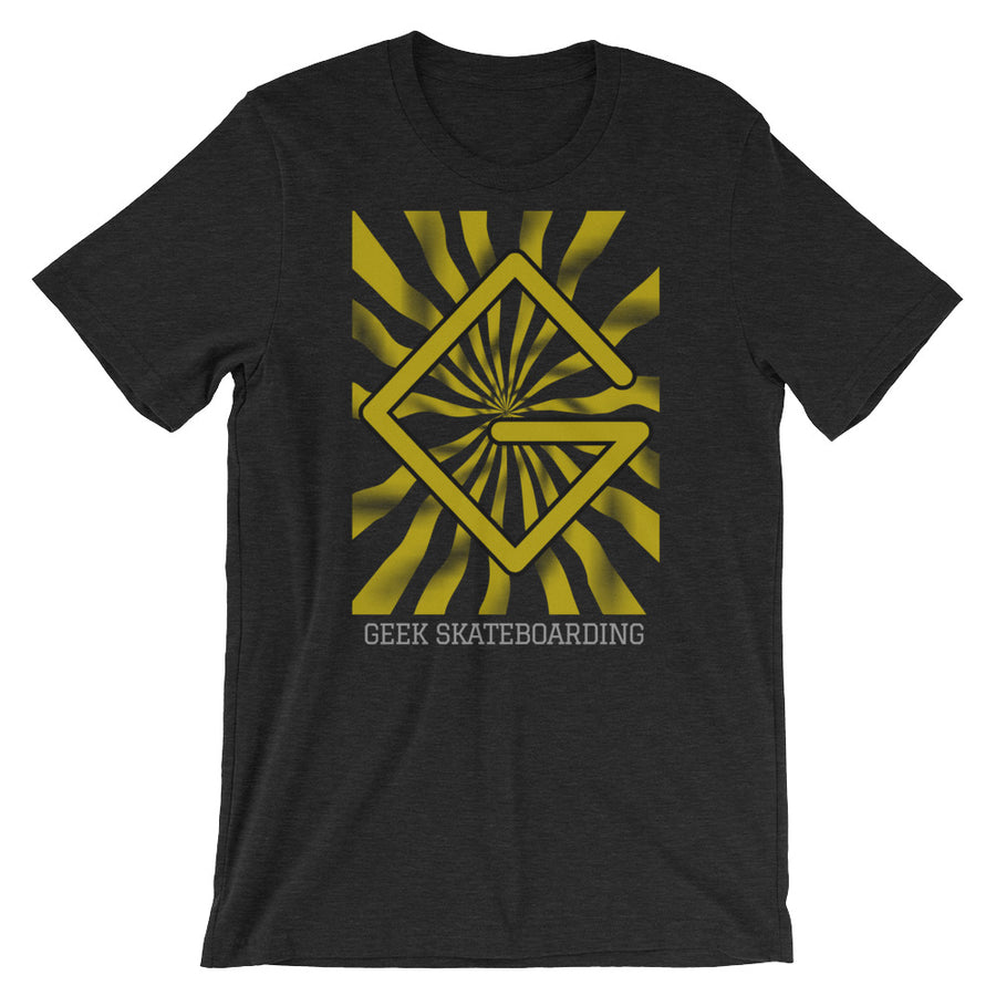 Golden-G Shirt - BLACK HEATHER - Geek Skateboarding