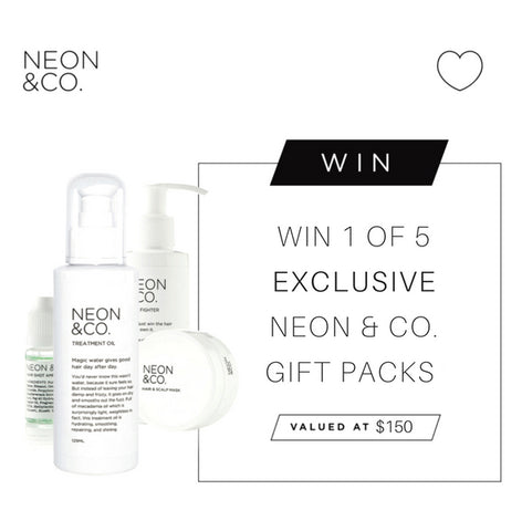 Bottle - WIN 1 OF 5 EXCLUSIVE NEON & CO. Gift Packs
