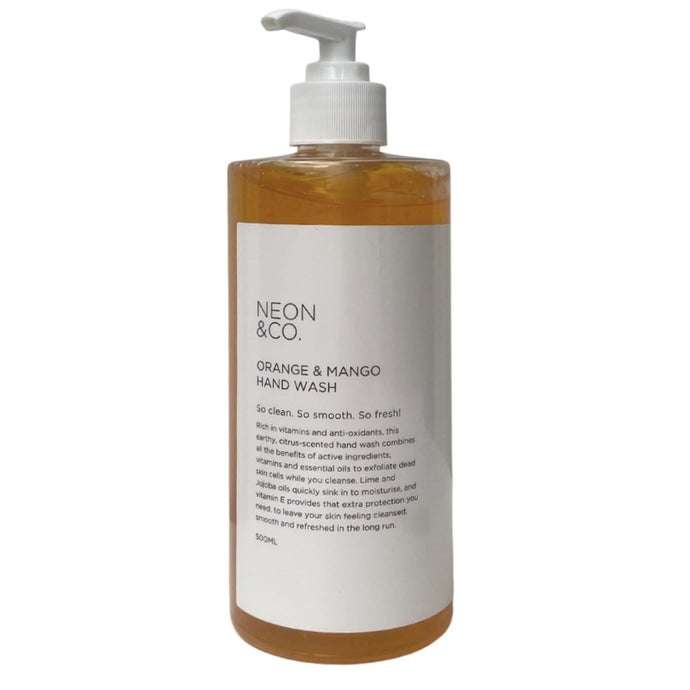 Neon Vegan 🍉 Mango & Orange Hand Wash (500ml)