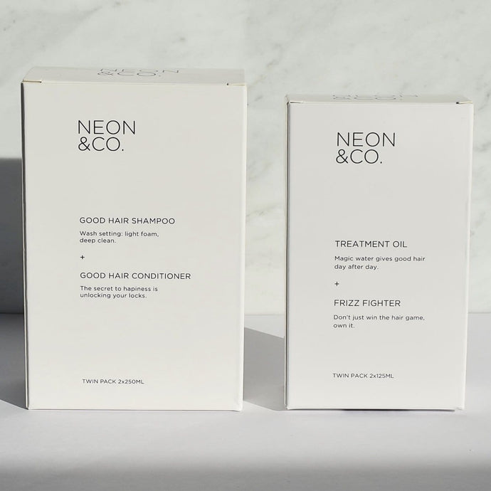 Neon & Co. Body and Shine Hair Kit (2 x 250ml, and 2 x  125ml)