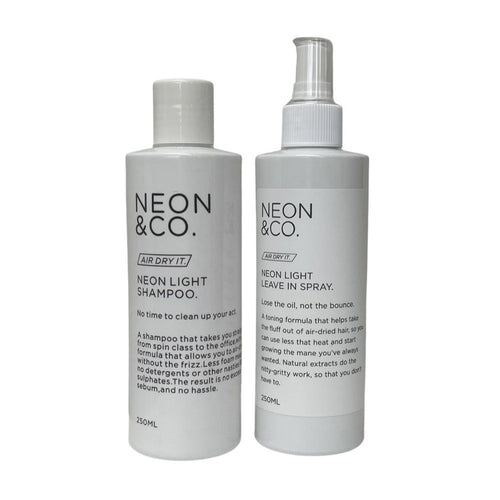 Neon & Co. ☁️ 'Air Dry It' Shampoo & Conditioner Duo