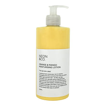 Load image into Gallery viewer, Neon Fresh - Orange & Mango Moisturising Lotion 500ML