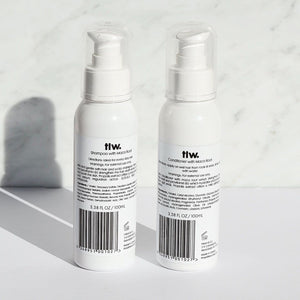 tlw. 'Longer and stronger' Maca Root Shampoo and Conditioner Duo (125ml x 2)