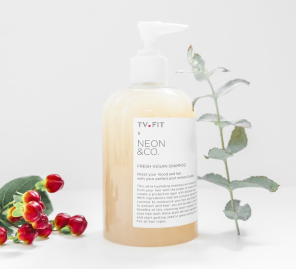 NEON FRESH - NEW  VEGAN  HAIR-CARE PRODUCTS