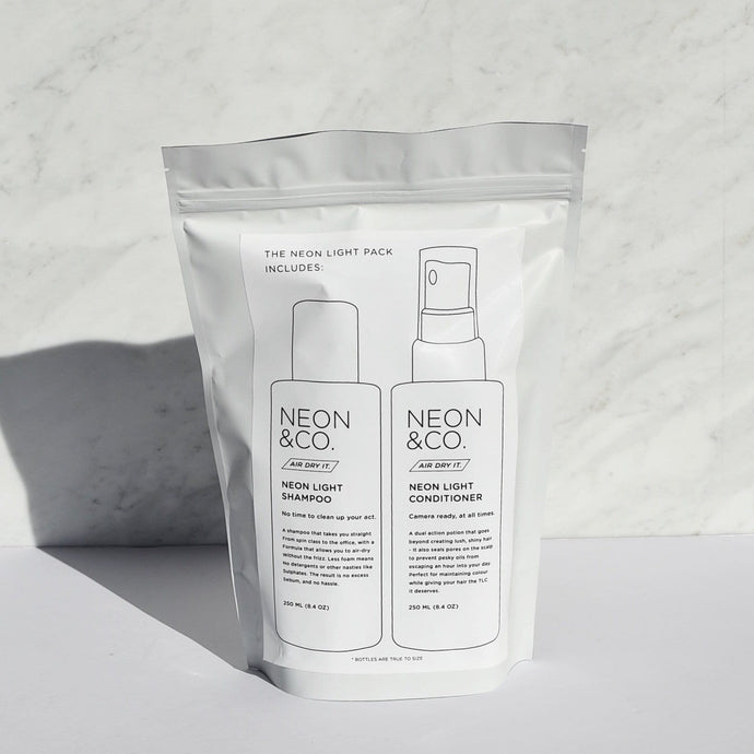 Neon & Co. ☁️ 'Air Dry It' Shampoo & Conditioner Duo (250ml x2)