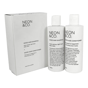 Neon & Co. Shampoo + Conditioner Duo (250ml x 2)